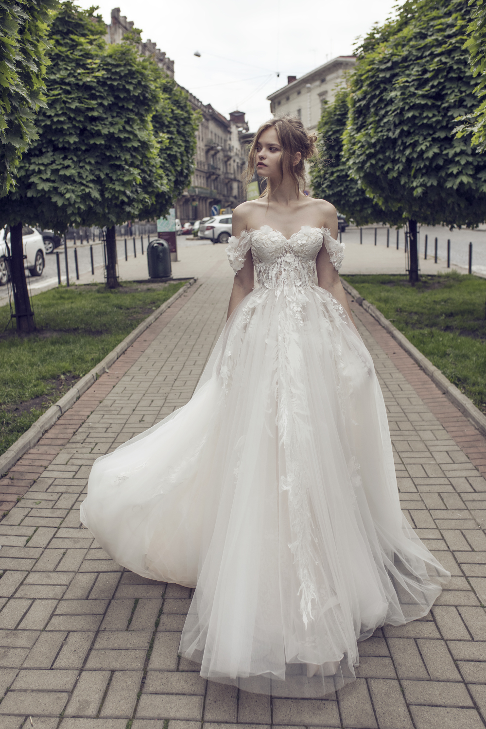 Juliet Gown by Riki Dalal. It's time....wedding dress shopping
