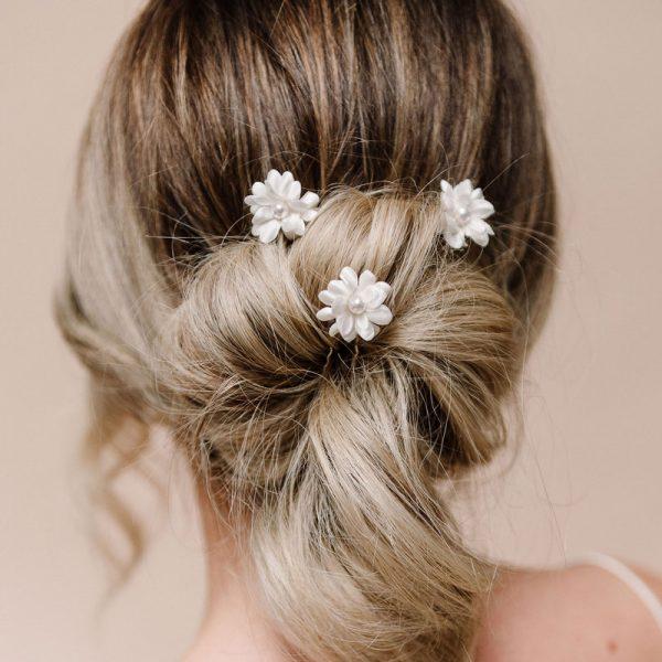 Double Flower Hairpins - Arianna Hairpins