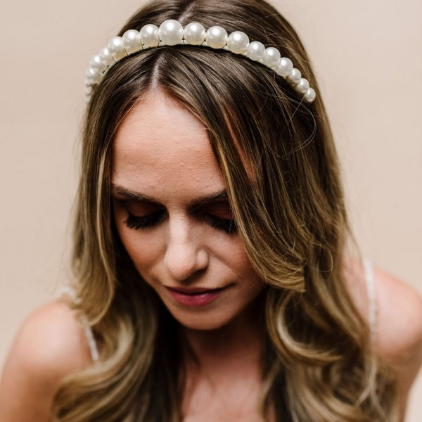 Purity Headband - Arianna Tiaras