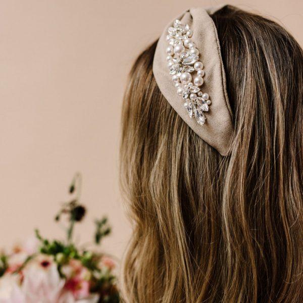 Rosalie Headband - Arianna Tiaras