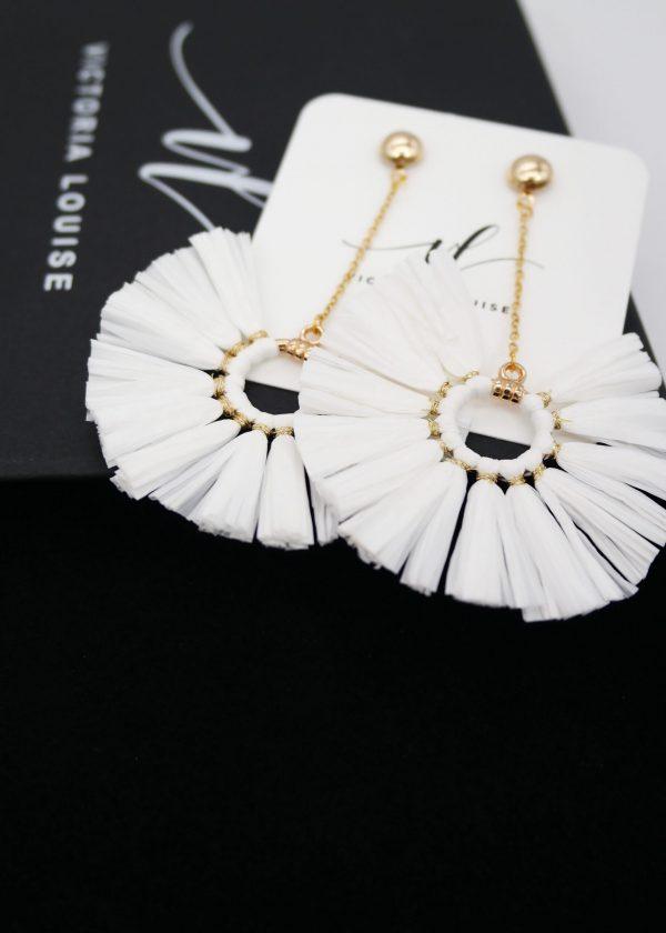 Raffia Earrings