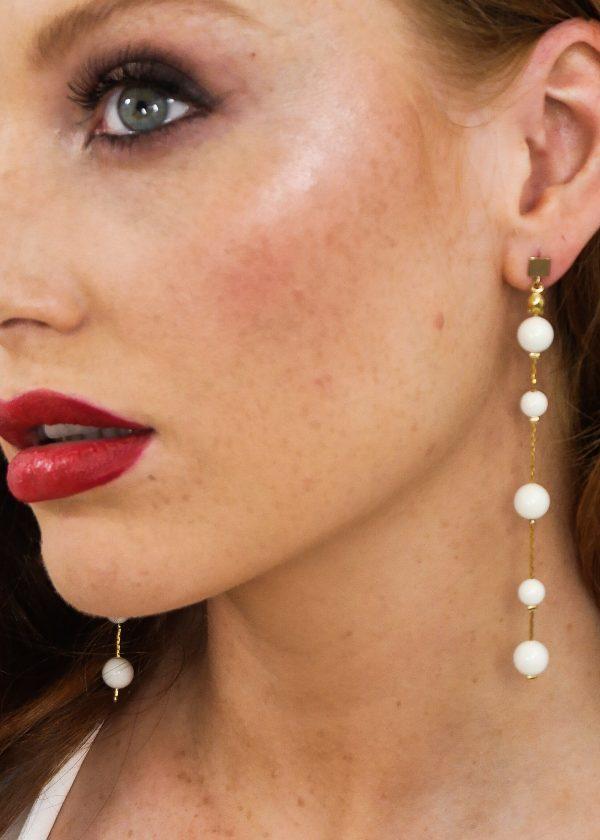 Swarovski Gloss Drop Earrings