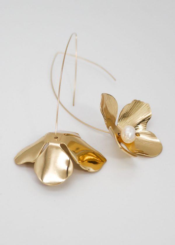 Hydrangea Drop Earrings