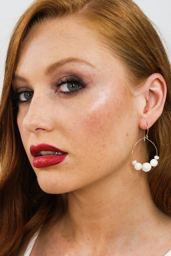 Small Iridescence Earrings