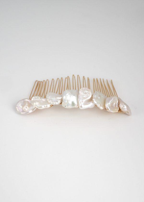 Keshi Pearl Comb