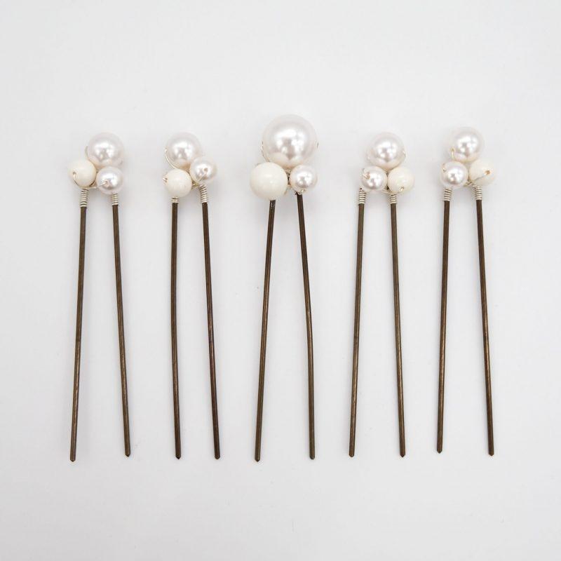 Swarovski 'Cluster' Hairpins