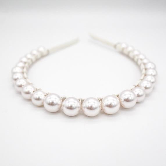 Swarovski Pearl Headband
