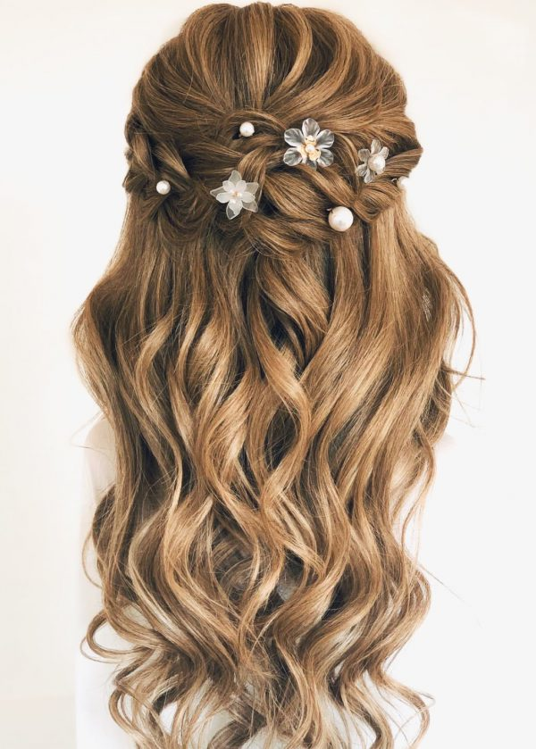 Floral Luxe Hairpins