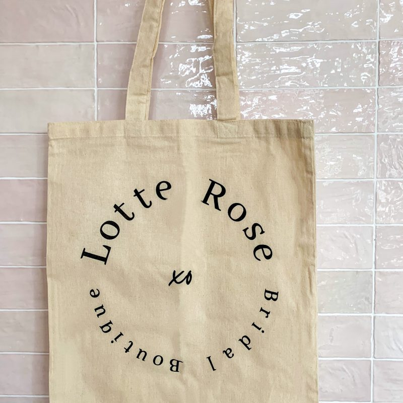 Lotte Rose Tote Bag
